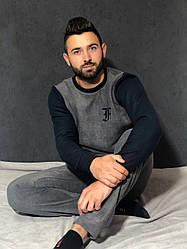 Мужская пижама из флиса