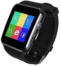 Умные смарт часы-телефон с поддержкой Sim card /Smart Watch X6 Чёрный, фото 3
