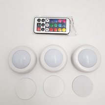 LED подсветка Светодиодные фонари Лампы для дома 3 шт Magic Lights с пультом, фото 3