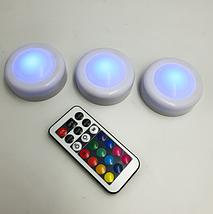 LED подсветка Светодиодные фонари Лампы для дома 3 шт Magic Lights с пультом, фото 2