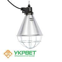 Защитный брудер KERBL для инфракрасной лампы Е27 с переключателем, фото 1