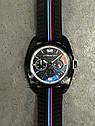 Оригінальний чоловічий хронограф BMW M Motorsport Watch Chrono, Men, Black (80262463267), фото 5