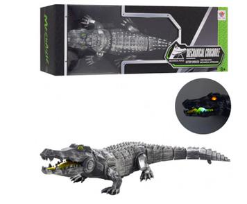Крокодил 47см,ходить,звук,світло,на бат-ці,в кор-ці,48,5х12х17,5см №FK507(12)