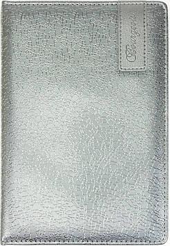 "Щоден. A5 ""Мандарин"" недат. 160арк. кліт. шкірзам №8932/ДН045/1 срібло(20)"