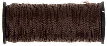 Нитки капрон. (375) (коричневі)(10)