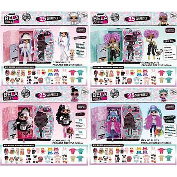 """Ігровий набір""""Bella dolls""""старша сестра17,5см+молодша,у кор-ці,4види мікс№BL1175(20)(40)КІ"""