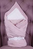 """Зимний конверт одеяло """"Мечта"""" розовый"""