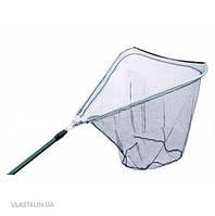 Подсак треугольный Bratfishing LS60-2202A с телескопической ручкой д.60х60 см