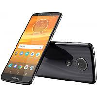 Смартфон черный с хорошим аккумулятором большой емкости на 2 sim Motorola Moto E5 Plus XT1924 black 3/32 гб