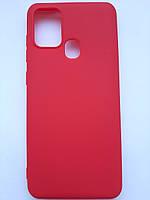 Чехол силиконовый SMTT для Samsung A21s красный, фото 1