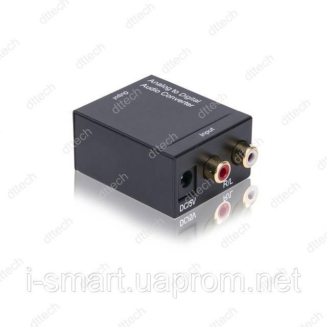 Конвертер аналогового аудио сигнала в оптический (цифровой)