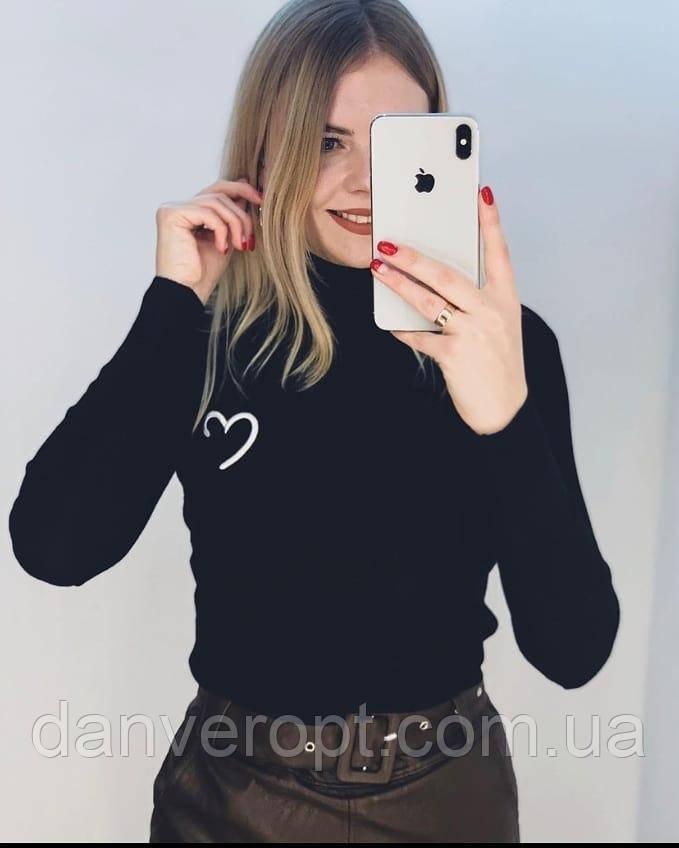 Гольф женский стильный модный размер универсальный 42-46 купить оптом со склада 7км Одесса