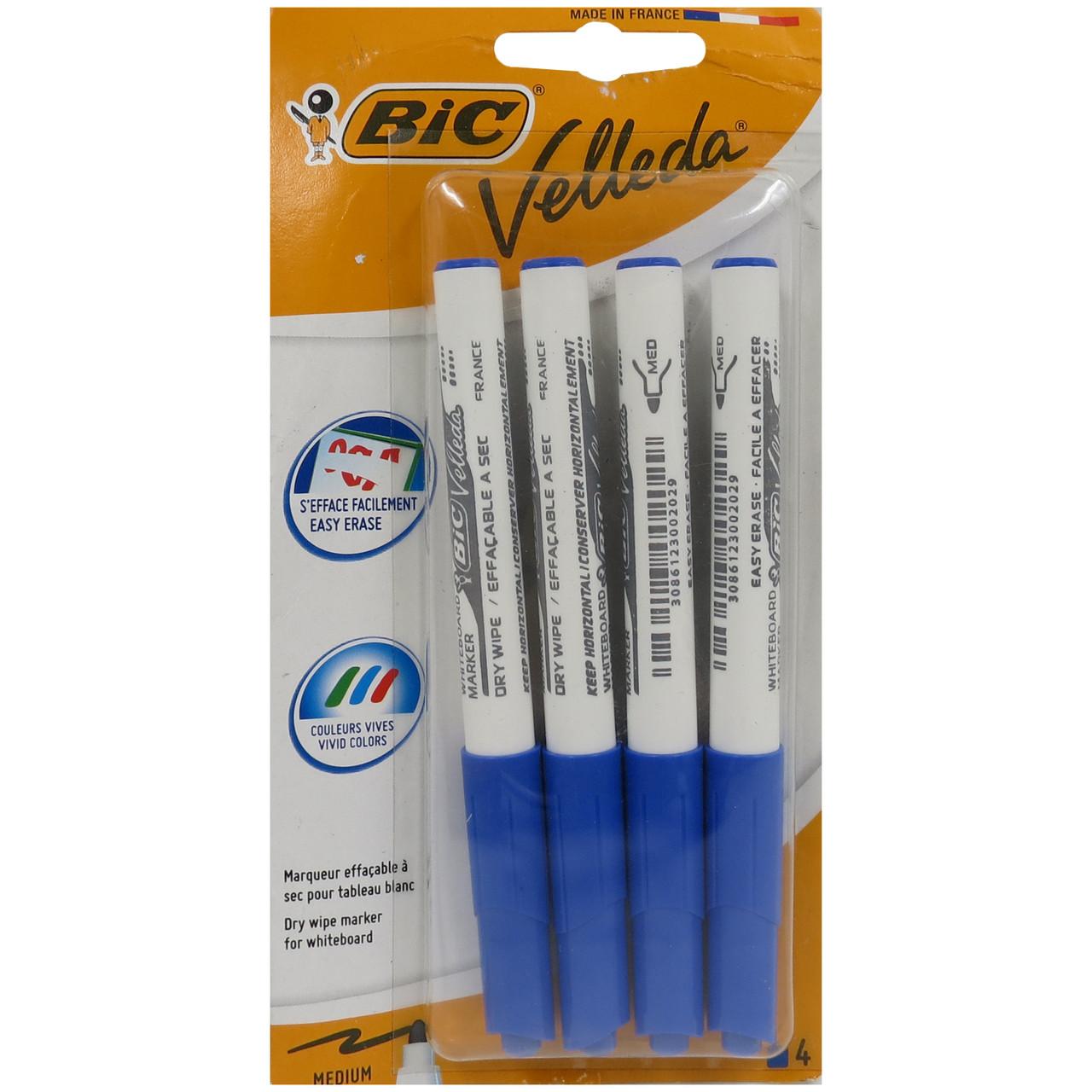 Набор маркеров 4 шт Bic 412