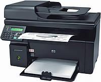 Б/У Лазерный черно-белый МФУ HP LaserJet M1212nf (CE841A) без платы подключения USB и без панели управления
