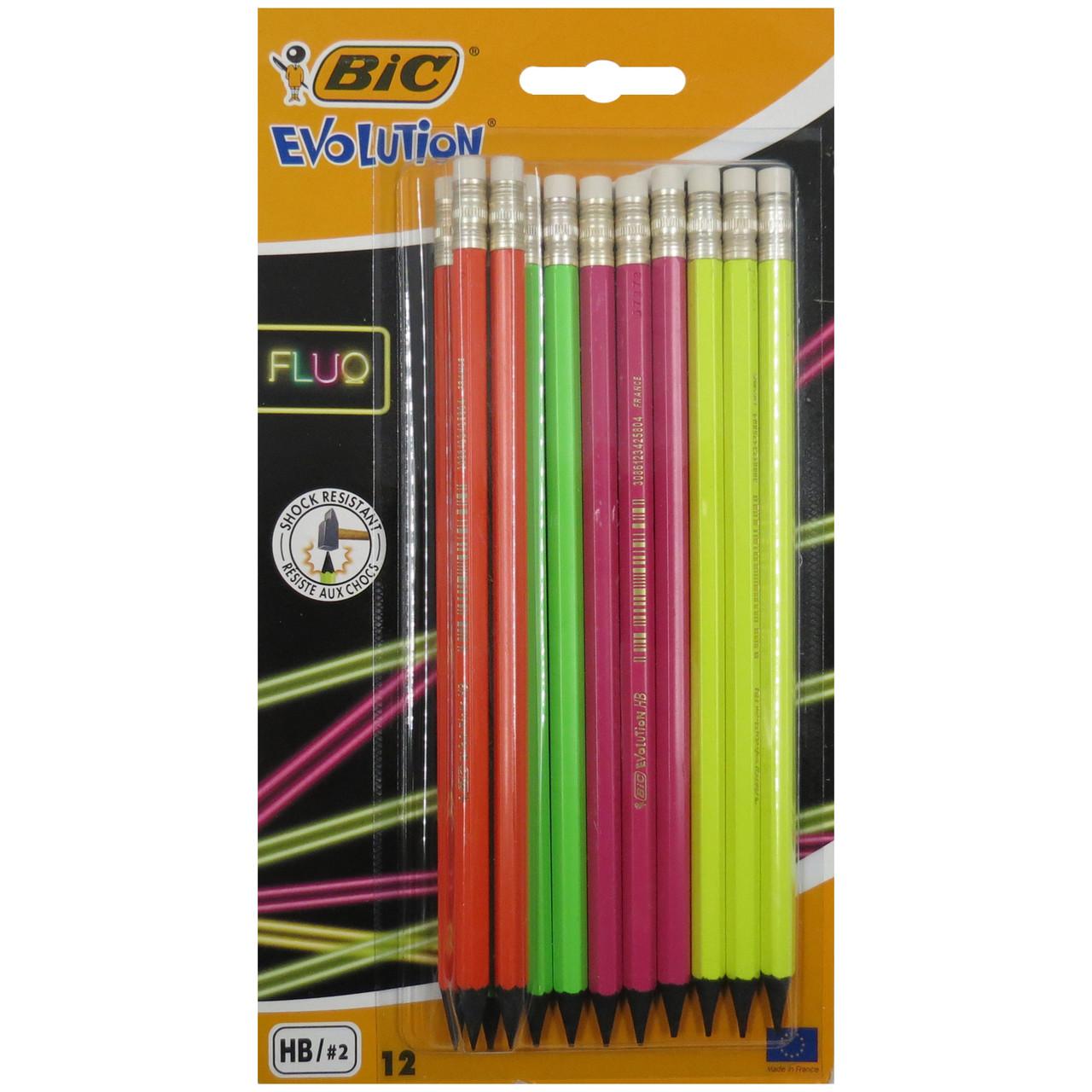 Набор простых карандашей 12 шт