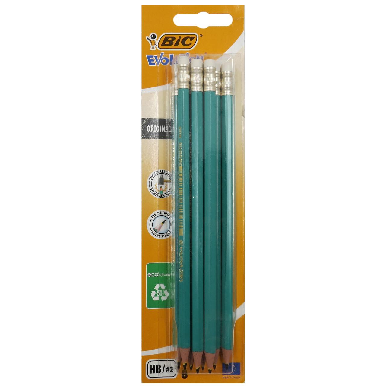 Набір простих олівців 8шт Bic 020