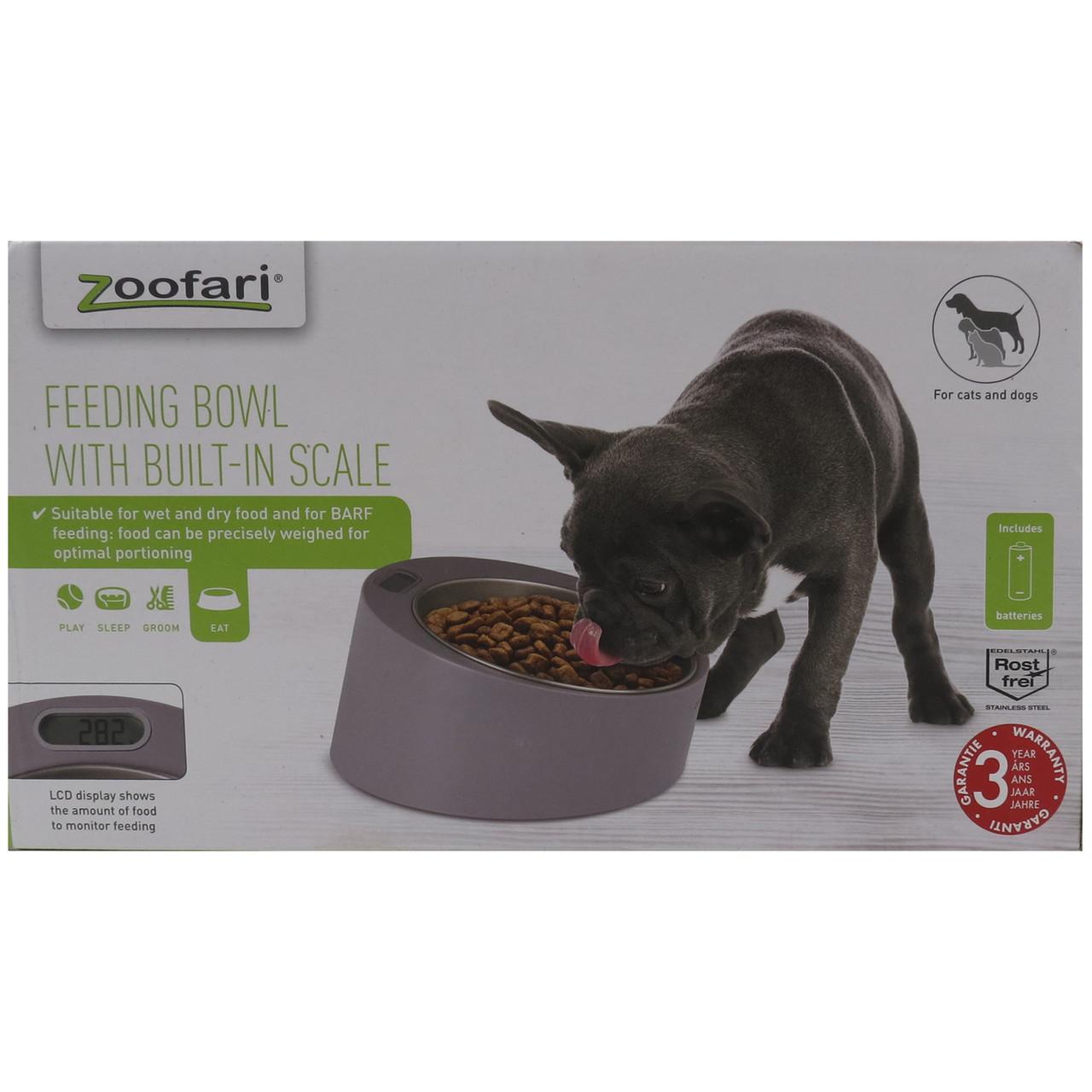 Весы со сьемной чашей для кормления животных Zoofari