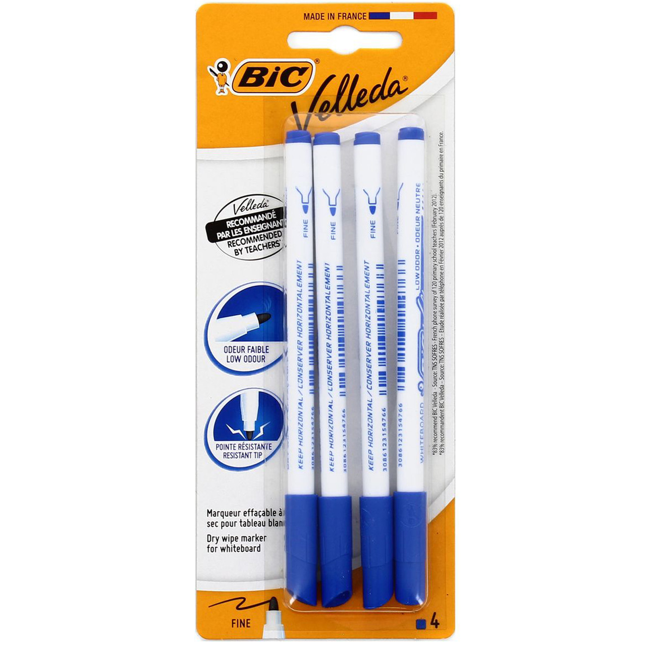 Набор маркеров 4 шт Bic 405