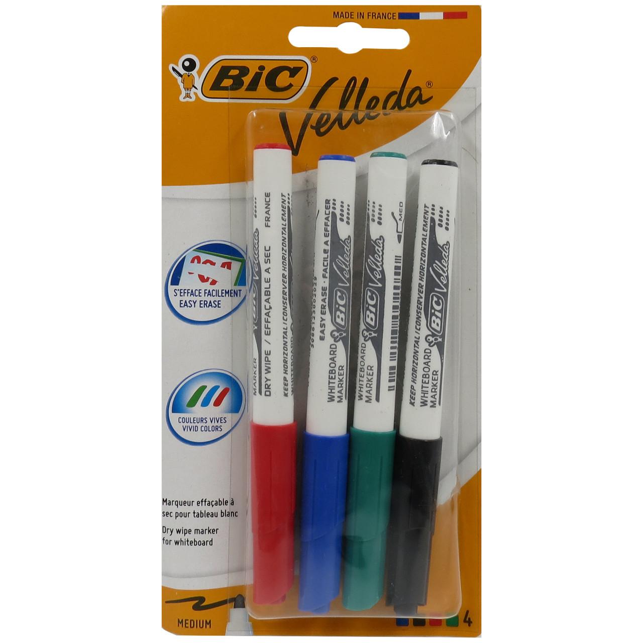 Набор маркеров для досок 4 шт Bic 441