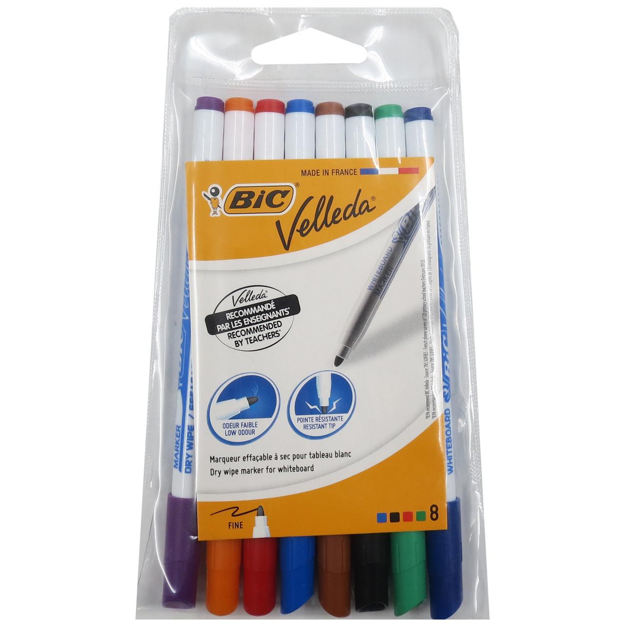 Набір маркерів для дошок 8 шт Bic 282