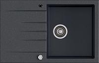 Кухонная мойка KERNAU KGS V 45A 1B1D BLACK METALLIC, фото 1