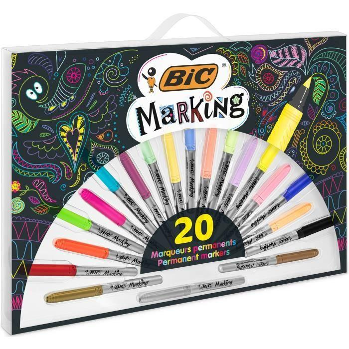 Набор маркеров 20 шт Bic 540
