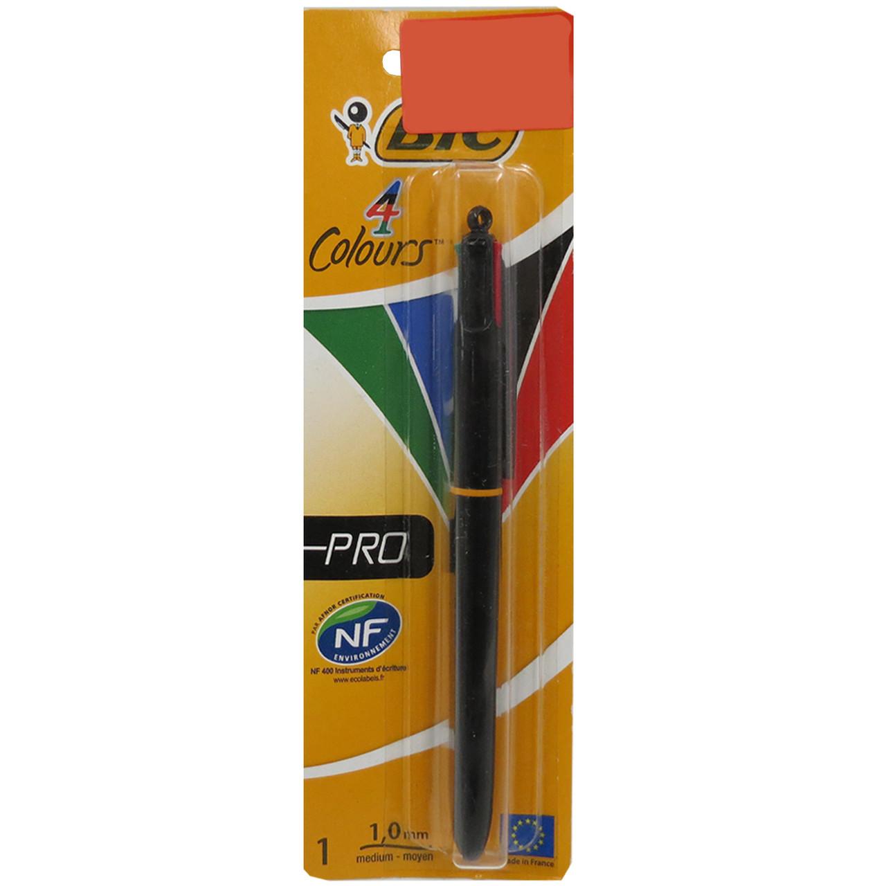 Ручка шариковая 4 цвета Bic !!! 348