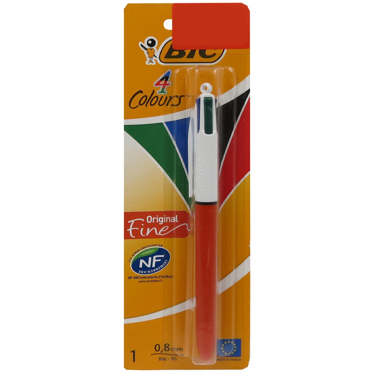 Ручка шариковая 4 цвета Bic 735 !!!