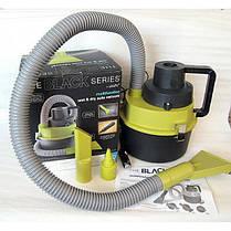 Вакуумный Авто Пылесос Black Multifunction Auto Vacuum, 4 Насадки, 12V | Black Wet & Dry Auto Vacuum Cleaner, фото 3