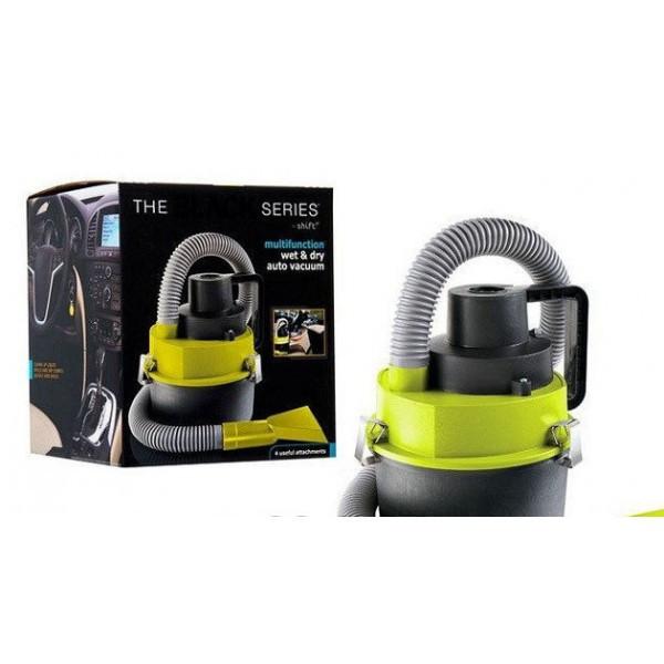 Вакуумный Авто Пылесос Black Multifunction Auto Vacuum, 4 Насадки, 12V | Black Wet & Dry Auto Vacuum Cleaner