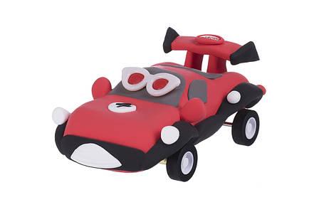 Маса для ліплення PAULINDA Super Dough Racing time машинка Червоний (PL-081161-4), фото 2
