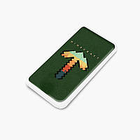 Повербанк (Power Bank) 5000 mAh Майнкрафт (Minecraft) (25938-1169) Белый, фото 1