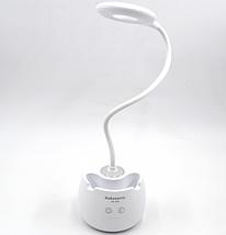 Сенсорная настольная Лед лампа Nokasonic / Белый, фото 2