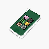 Повербанк (Power Bank) 5000 mAh Майнкрафт (Minecraft) (25938-1173) Белый, фото 1