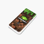 Повербанк (Power Bank) 5000 mAh Майнкрафт (Minecraft) (25938-1174) Белый