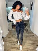 Женские модные джинсы, фото 1