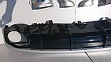 Дифузор задній Audi A7 стиль RS7 16+ S-line, фото 2