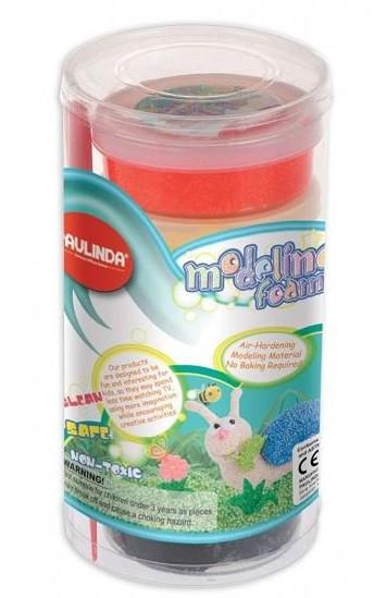 Маса для ліплення PAULINDA Modeling foam 6x45 мл Пластиковий бокс (PL-072527)