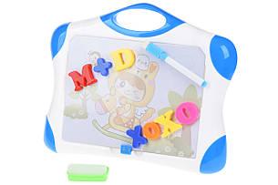Магнітна дошка для навчання Same Toy Синій (009-2044BUt), фото 2