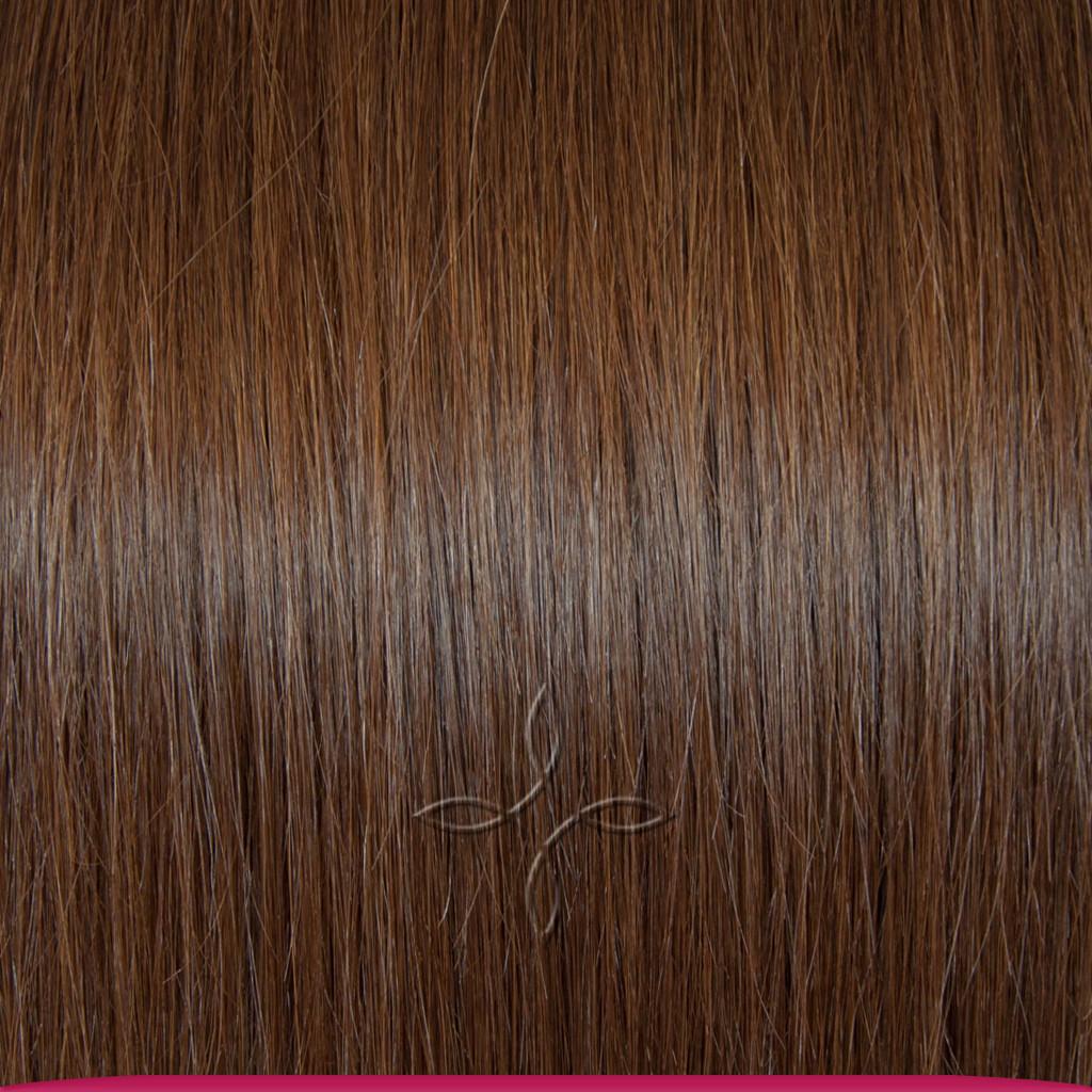 Натуральные Славянские Волосы на Заколках 45-50 см 115 грамм, Шоколад №04