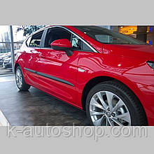 Молдинги на двері для Opel Astra K 2015+