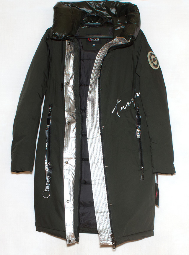 зимова подовжена куртка