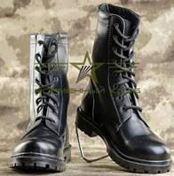 Берцы НАТО ХРОМ  кожаные черные 36, фото 1