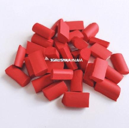 Фоам Чанкс для слайма красный, фото 2