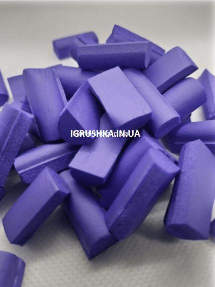 Фоам Чанкс для слайма фиолетовый