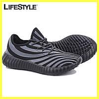 Кроссовки Adidas yeezy Zebra, Адидас -Черные 41-43