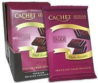 Шоколад черный Cachet Dark Chocolate 53 %cacao 300г