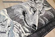 Мікрофібра ELWAY1.5-я Вовки, фото 3