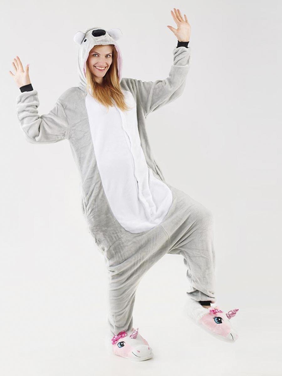 Пижама кигуруми Коала серая S (150-160см)