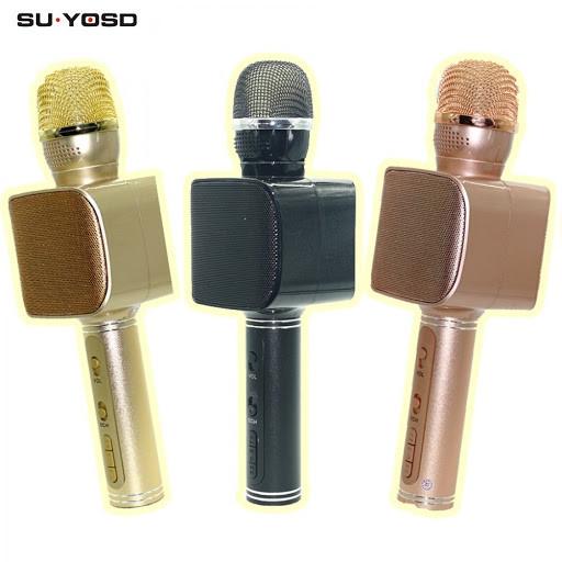 Беспроводной портативный Bluetooth микрофон для караоке Magic Karaoke YS-68 + колонка 2 в 1 с мембраной низких